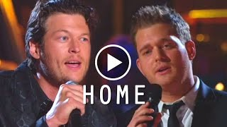 Home - Michael Buble & Blake Shelton - Lyrics/แปลไทย