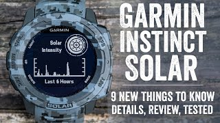 Garmin Instinct Solar Review: 9 New Things to Know!