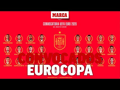Revive la lista completa de Luis Enrique: ¡Sergio Ramos no va a la Eurocopa! I MARCA