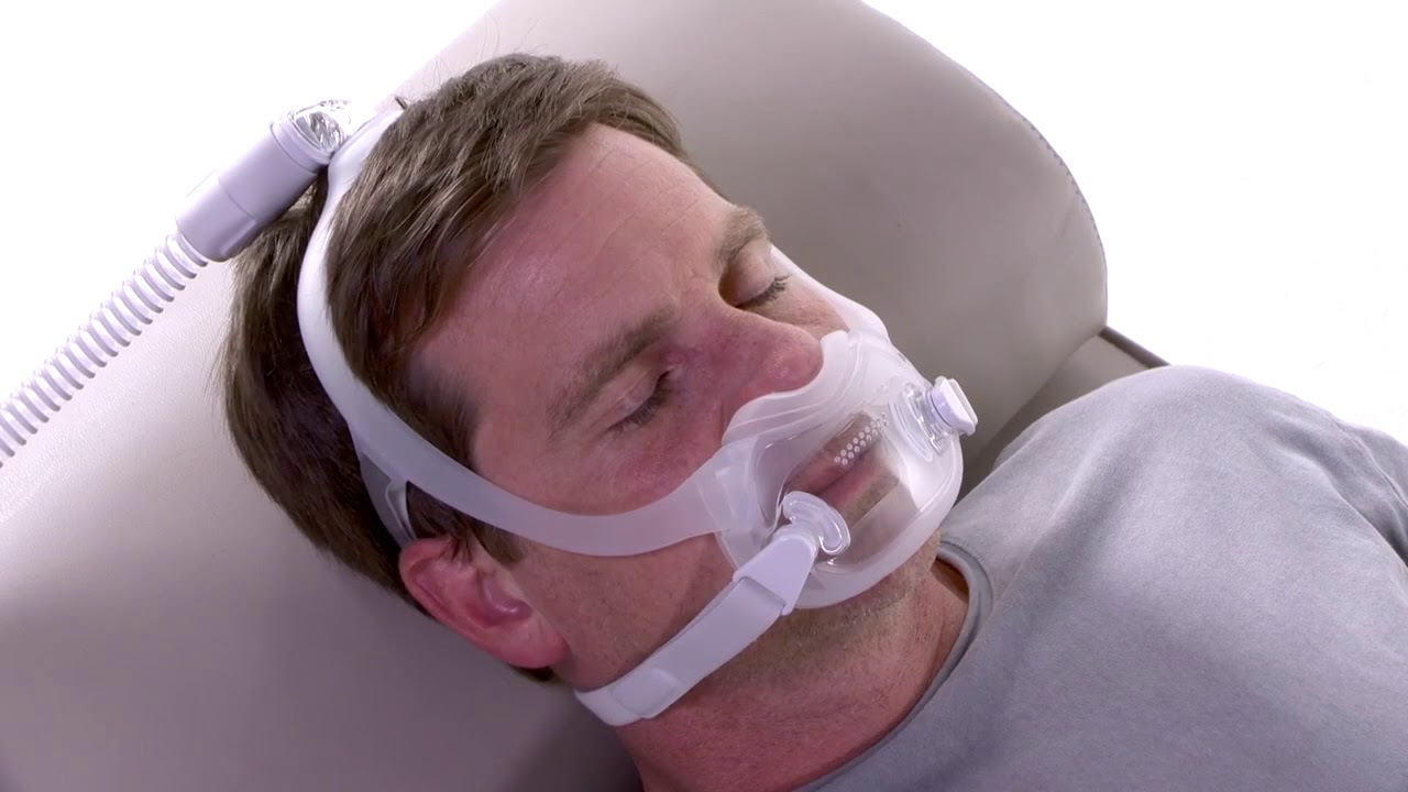 Adjusting for Leaks with the DreamWear Full Face CPAP Mask