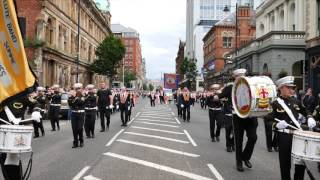 Annual 12th July Parade Belfast 2016