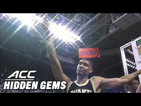 Tim Duncan MVP Performance in 1996 ACC Championship | ACC Hidden Gem