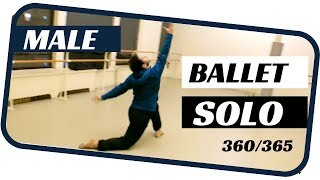 Male ballet solo- dancing 365 ballets- ballet 360