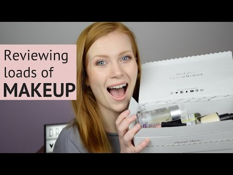 HUGE Makeup Review | Nyx, Anastasia Beverley Hills, Bare Minerals, and more | Simply Redhead