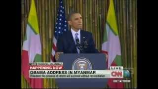 President Obama Yangon Myanmar Speech (November 19, 2012) [3/3]