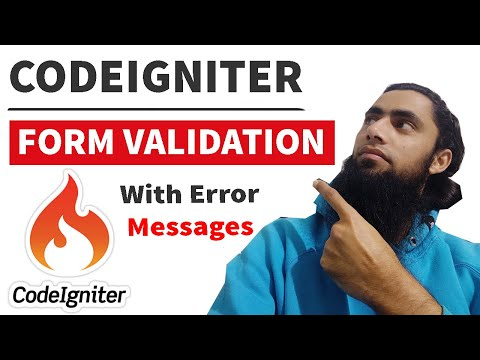 How To Create Login Form Using Codeigniter With Form Validation And Error Messages (July 2019)
