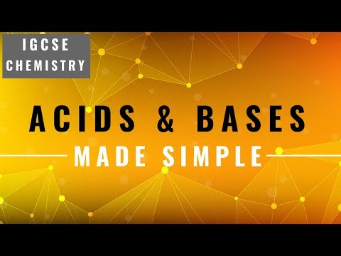IGCSE CHEMISTRY REVISION [Syllabus 8] - Acids And Bases ...