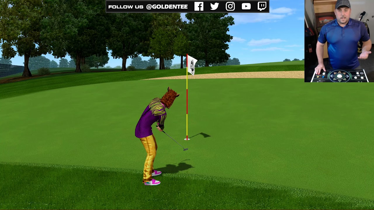 Golden Tee 2018's New Spin Type: Release