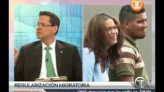 Telemetro director de migración, Javier Carrillo sobre llegada de venezolanos a panamá
