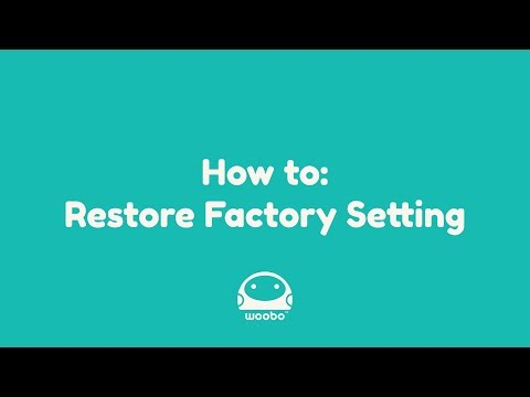How To: Restore Factory Setting (Written Instructions in Description)