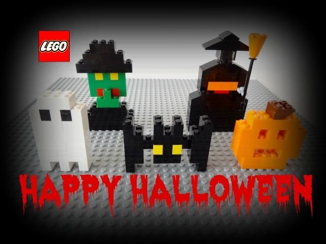 LEGO Halloween videos : How to build an EASY Halloween LEGO set