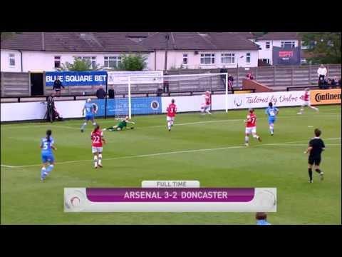 Arsenal V Doncaster 3-2 | FAWSL