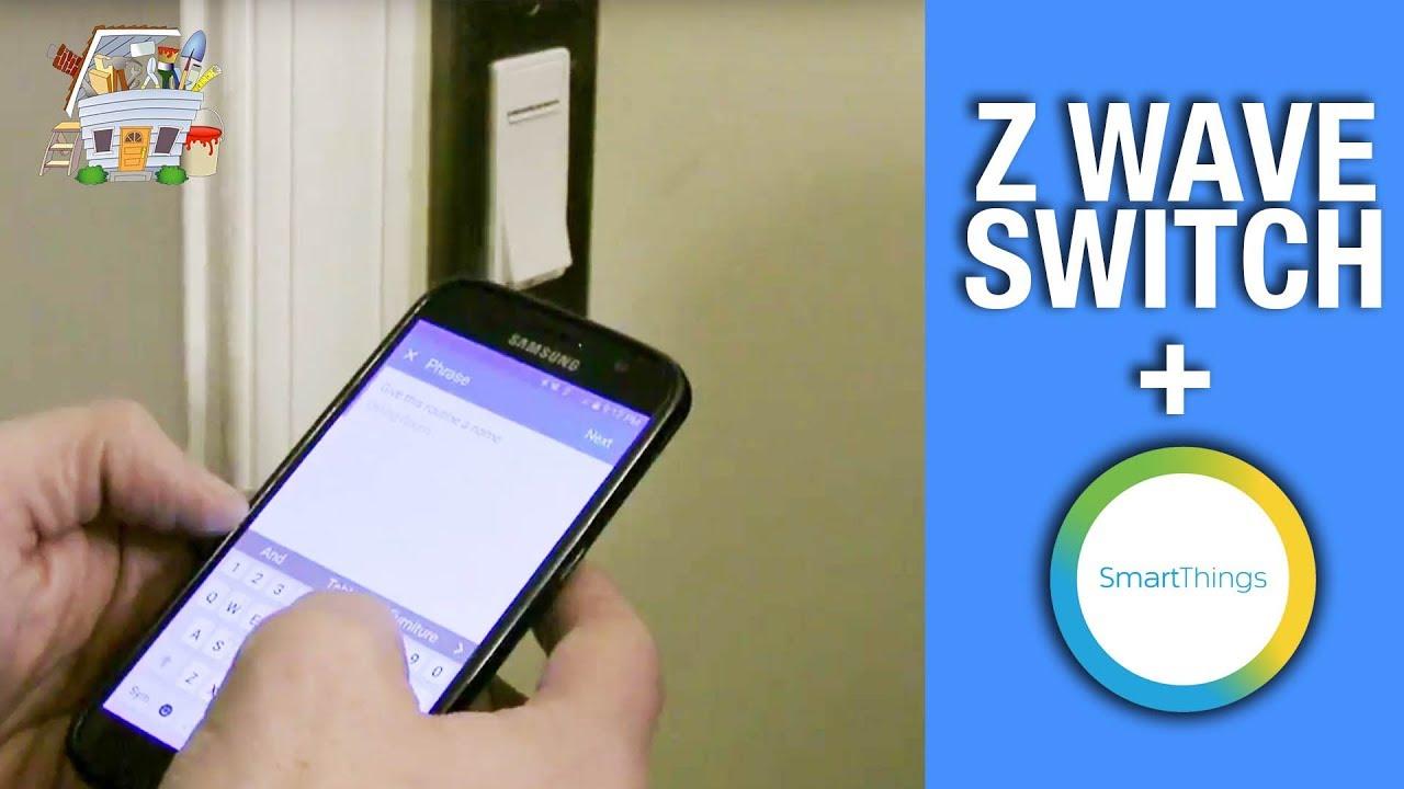 Add Leviton Z Wave switch to SmartThings Hub