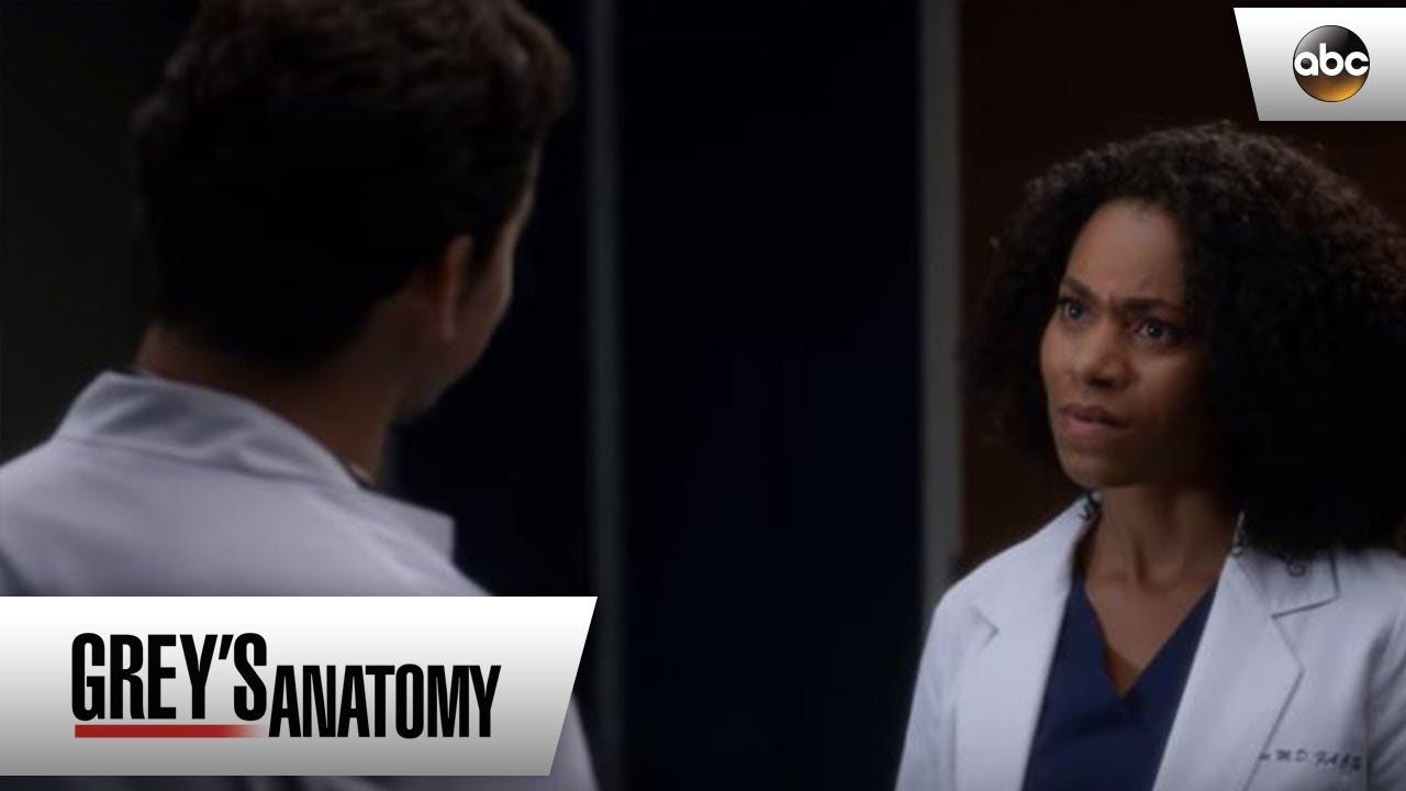 DeLuca Apologizes To Maggie - Grey's Anatomy - YouTube