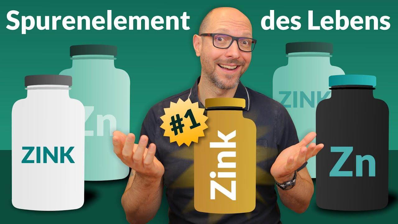 Zink - Spurenelement des Lebens! (5 Produkte im Test)
