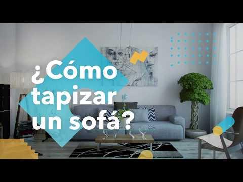 ¿Cómo tapizar un sofá? - habitisismo