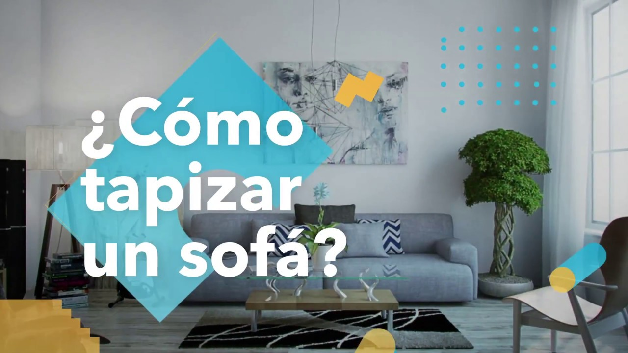 C mo tapizar un sof habitisismo youtube - Tapizar sofas en casa ...