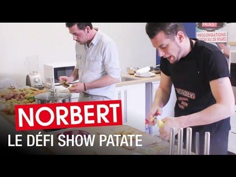 """#1 Norbert relève le défi """"Show Patate"""" de CuisineAZ !"""
