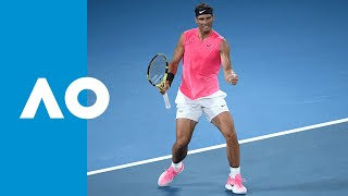 Rafael Nadal Vs Nick Kyrgios - Match Highlights  R4  | Australian Open 2020