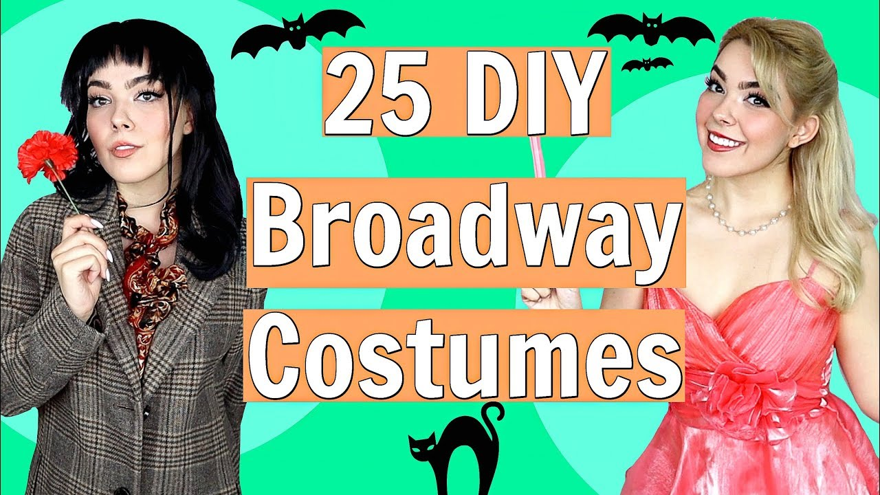 [VIDEO] - DIY Broadway Costume Ideas!  // Cute + Easy Theatre Halloween Costumes 2019 6