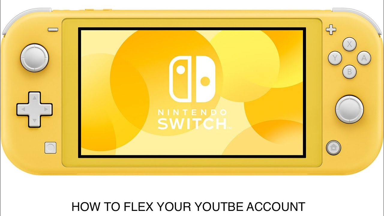 How to flex your youtube account