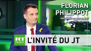 «Il y a une détestation aujourd'hui de Macron dans le pays», estime Florian Philippot