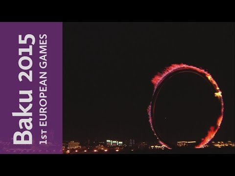 FULL REPLAY of the Opening Ceremony | Baku 2015 European Games