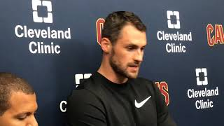 Kevin Love wanted to be part of Cleveland's future, ready to lead