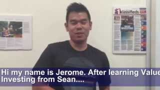 Sean Seah's Value Investing Course Testimonials