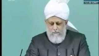Проповедь Хазрата Мирзы Масрура Ахмада (27-08-10) часть 3