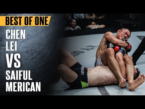 ONE: Best Fights | Chen Lei vs. Saiful Merican | Chen Taking Home A Submission Victory Via Armbar