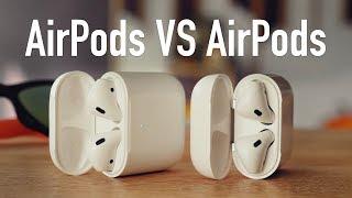Сравнение AirPods 2 и AirPods 1. Какие выбрать?