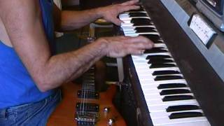 Right Now - Van Halen (Piano & Guitar cover)
