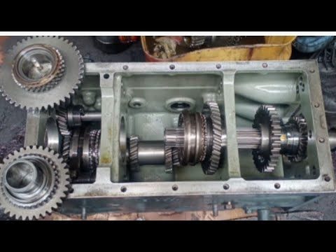 Download SHIBAURA D23F transmission re-assemble and replace ball bearing tractors&marine MECHANIC