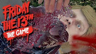 Friday The 13th The Game Gameplay German - Snitch Hunter