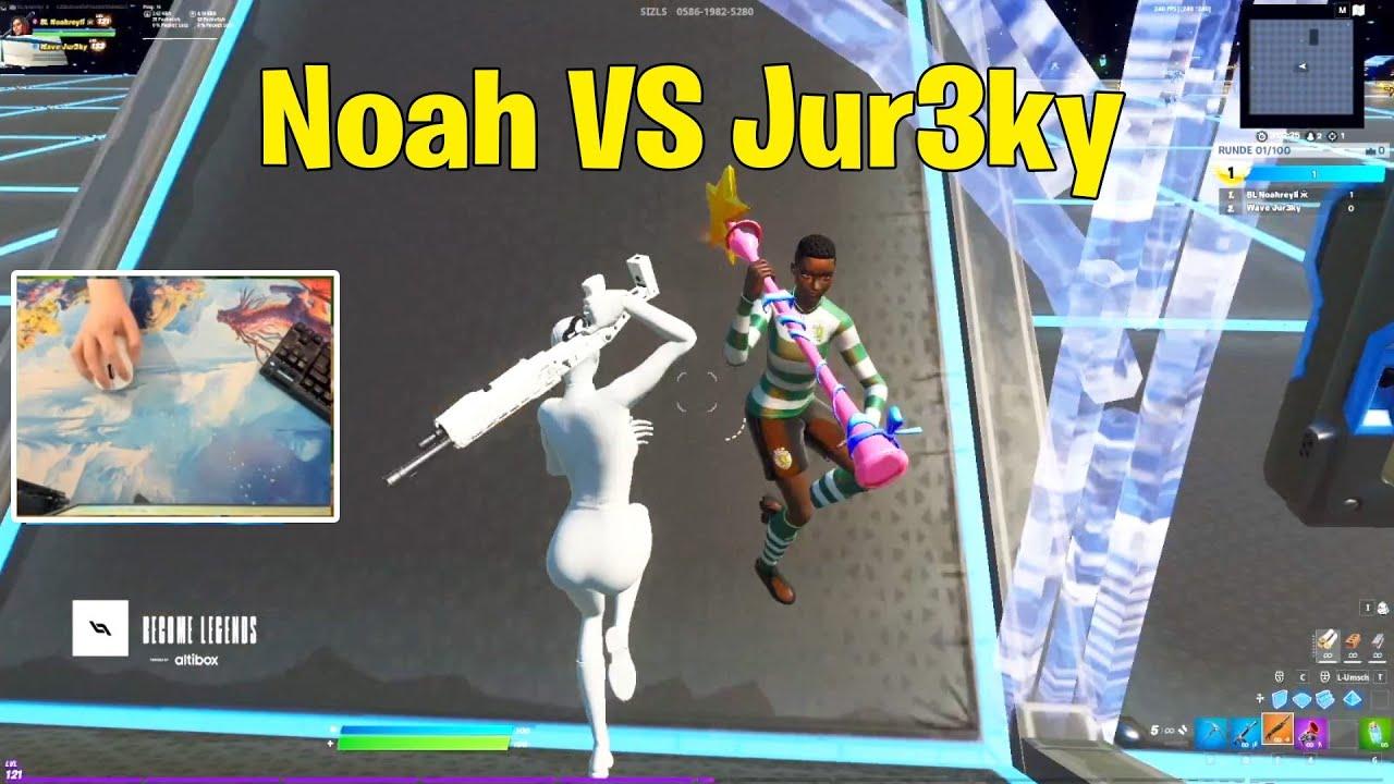 Noahreyli VS Wave Jur3ky 1v1 Buildfights