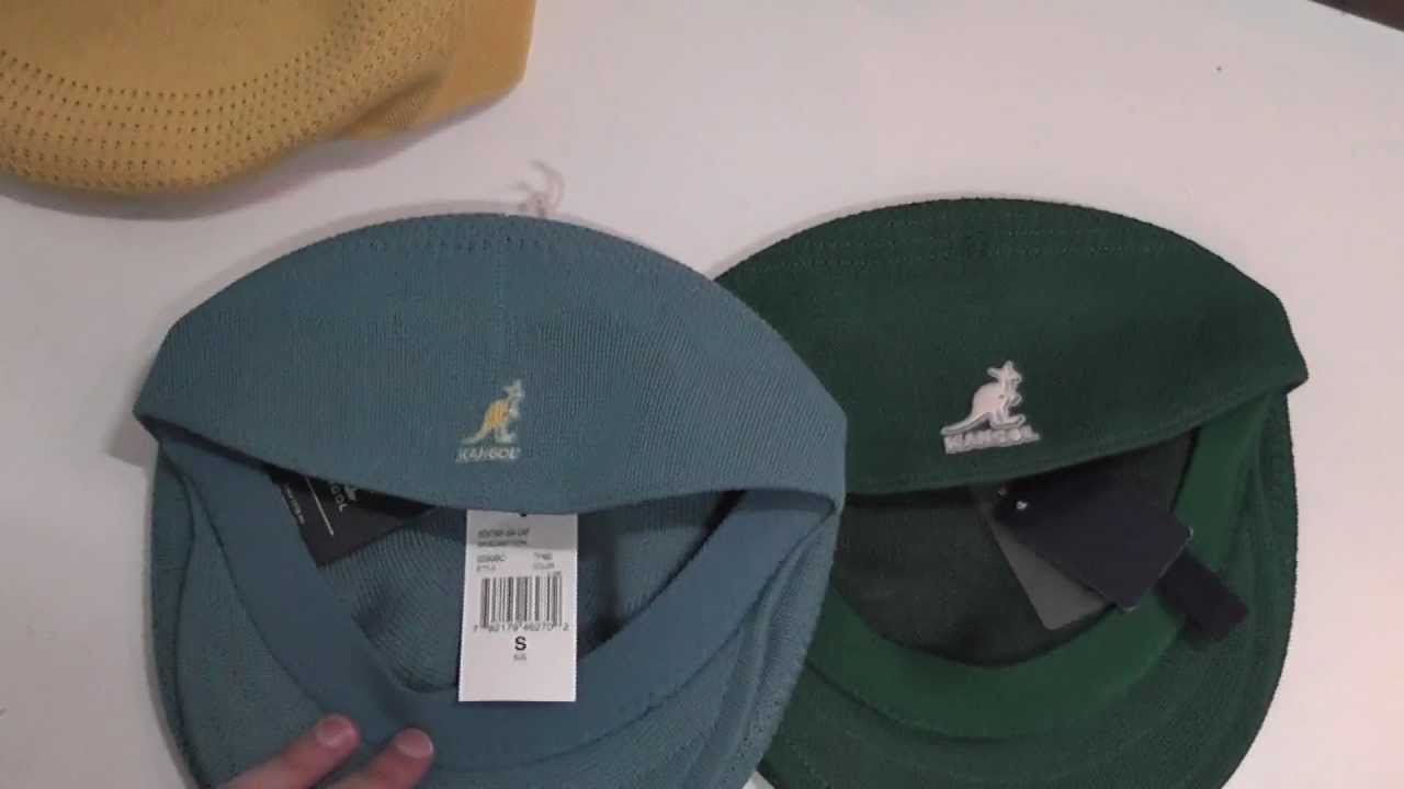 Как отличить поддельный Kangol  How to spot a fake kangol tropic 504  -  YouTube 1bc1b6986b9