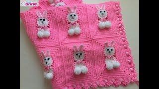 Tavşanlı Bebek Battaniye Yapımı