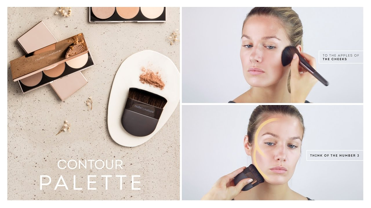 How To: Contour Palette By Nude By Nature