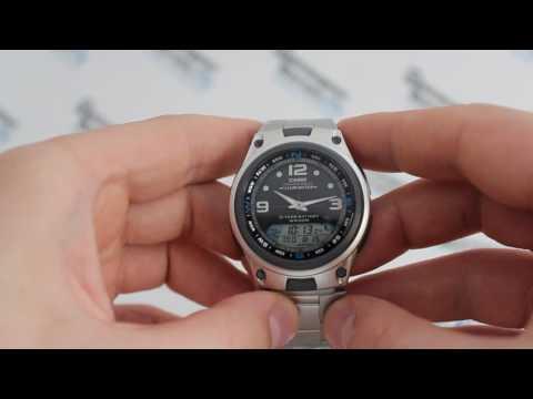 Casio Fishing Gear AW-82D-1A [AW-82D-1AVEF] - видео обзор часов для рыбака от PresidentWatches.Ru