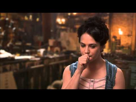 "Victor Frankenstein: Jessica Brown Findlay ""Lorelei"" Behind the Scenes Movie Interview"