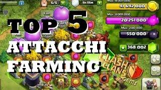 TOP 5 -Attacchi FARMING- Week#1 Clash of Clans