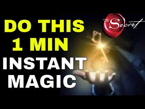 Create REAL MAGIC In Your Life & Overcome Failure Using The Law of Attraction