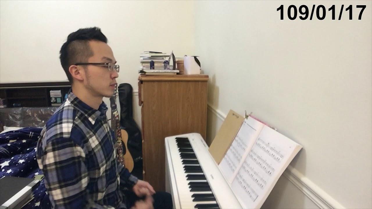 【鋼琴紀錄#9】練習Am和弦 新左手配樂及新歌曲(2M2W) - YouTube