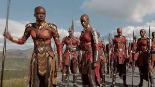 "Dora Milaje Origin ""Black Panther Movie"""