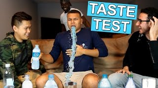 ULTIMATE WATER TASTE TEST CHALLENGE!