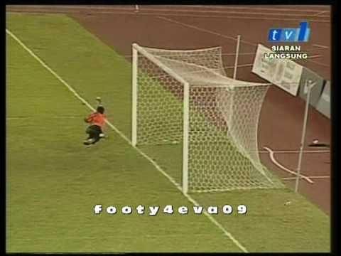 GOAL[Ismail Faruqi Ashaari(Terengganu)][Vs Harimau Muda][21/02/09]