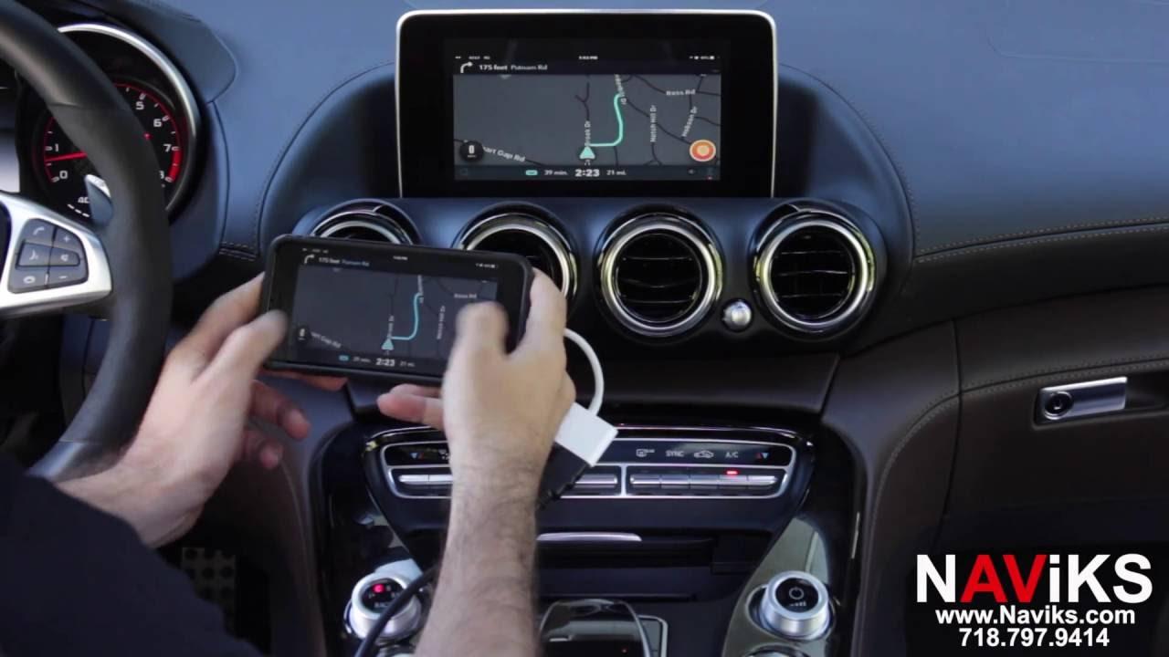 Interior mercedes amg gt s dtm safety car c190 2015 pr - 2016 Mercedes Amg Gt S C190 Naviks Hdmi Video Interface Add Front Camera Smartphone Mirroring