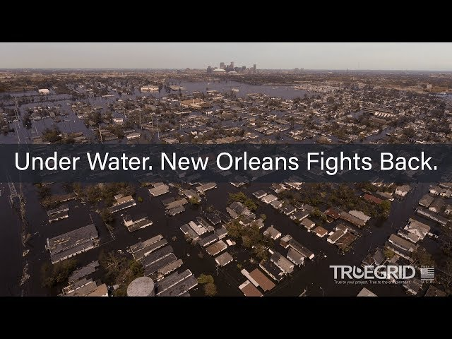 Under Water. New Orleans Fights Back.