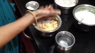 Srirangam Radhu-Arisi Vadai